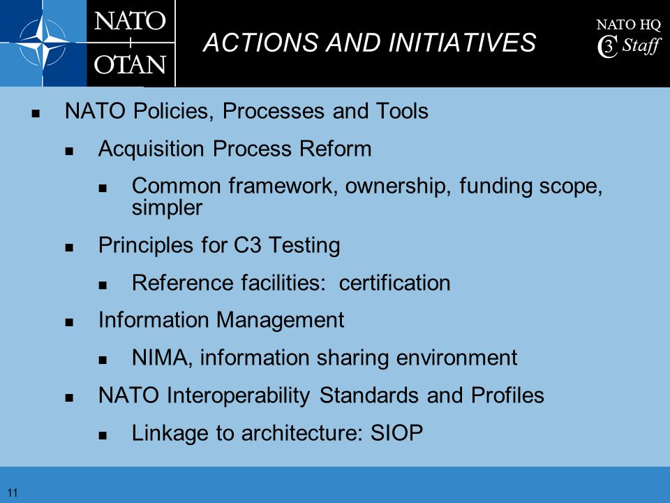 ACTIONS AND INITIATIVES