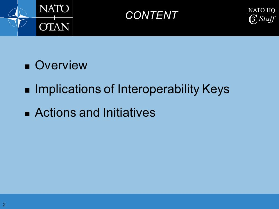 Implications of Interoperability Keys Actions and Initiatives