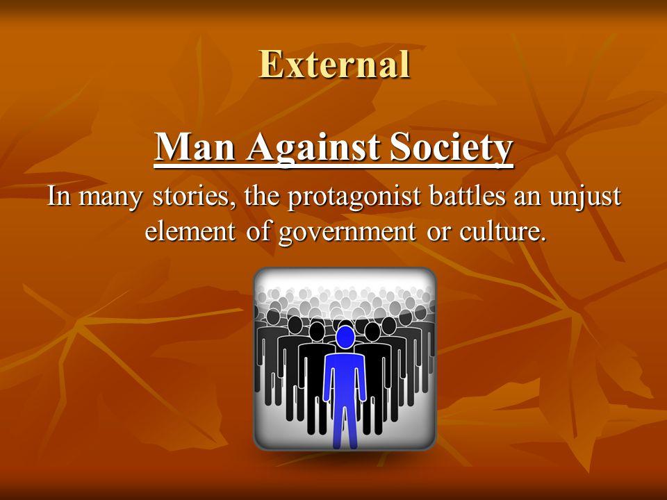 External Man Against Society