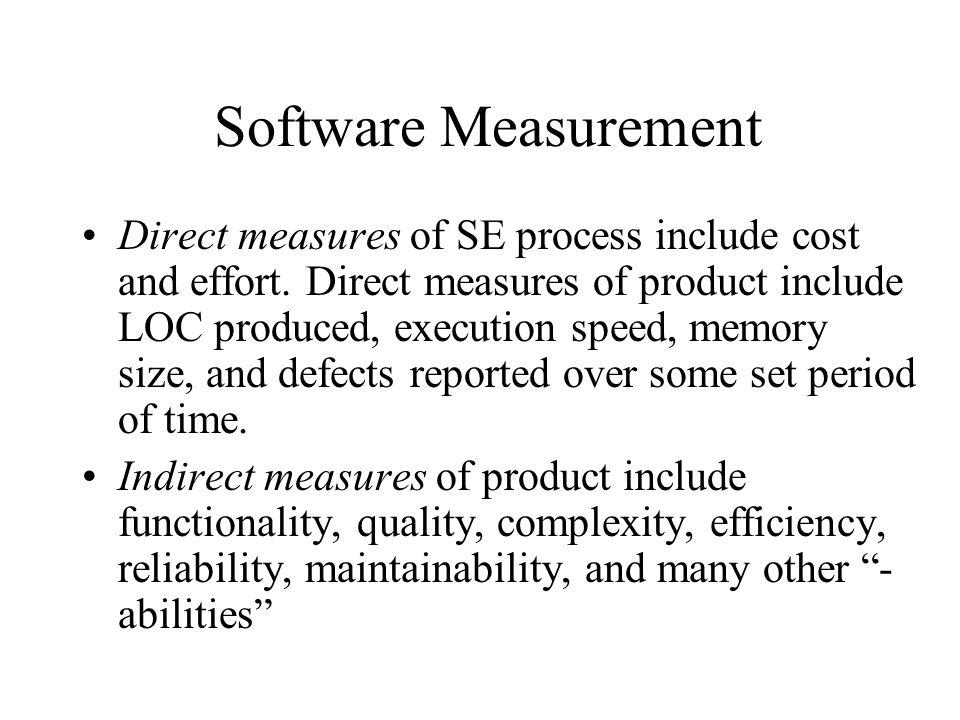 Software Measurement