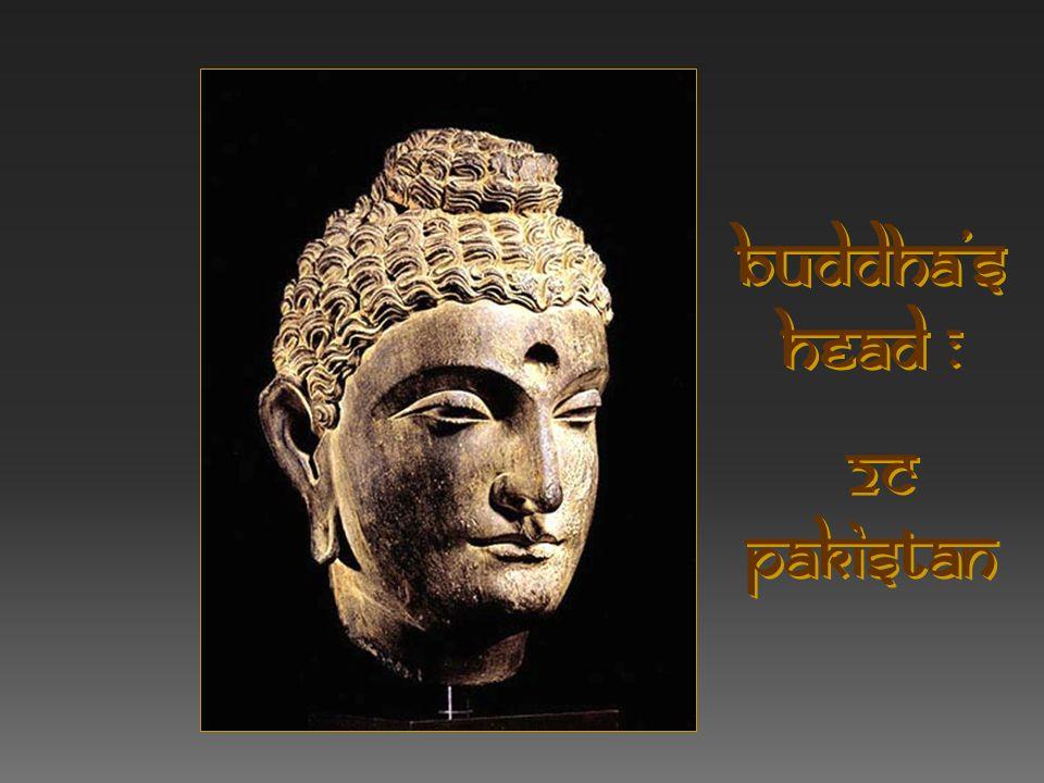 Buddha's head : 2c Pakistan