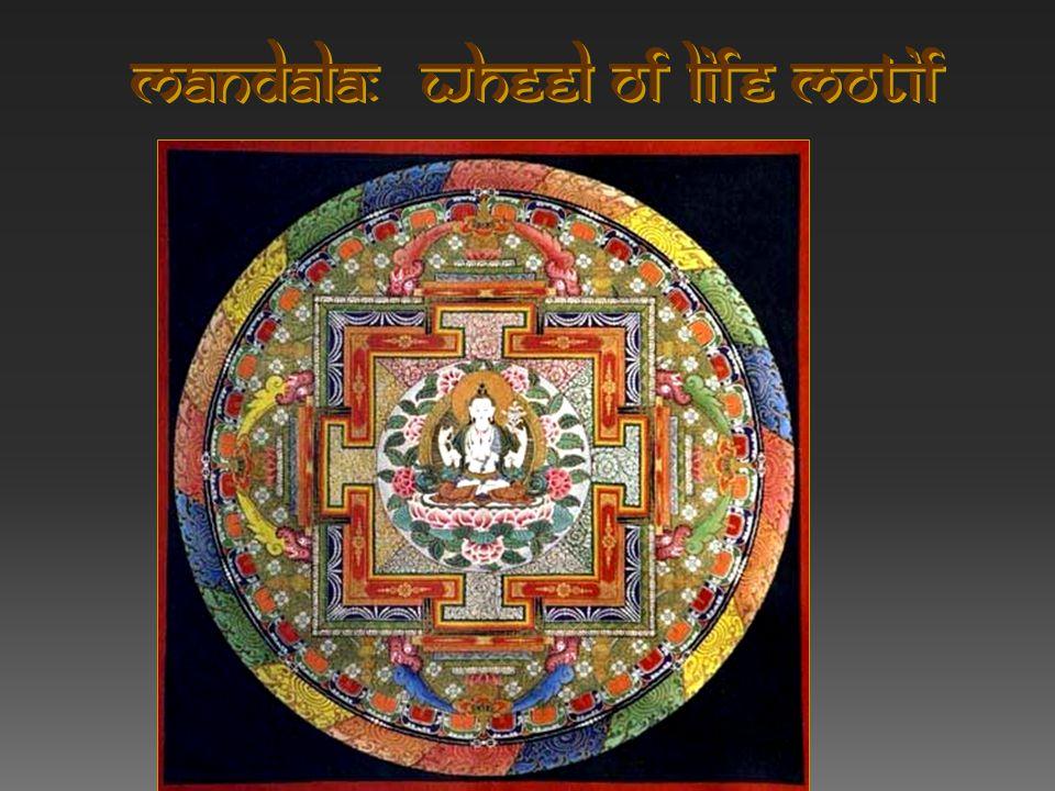 Mandala: Wheel of Life Motif
