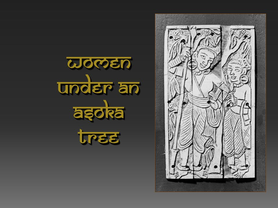 Women Under an Asoka tree