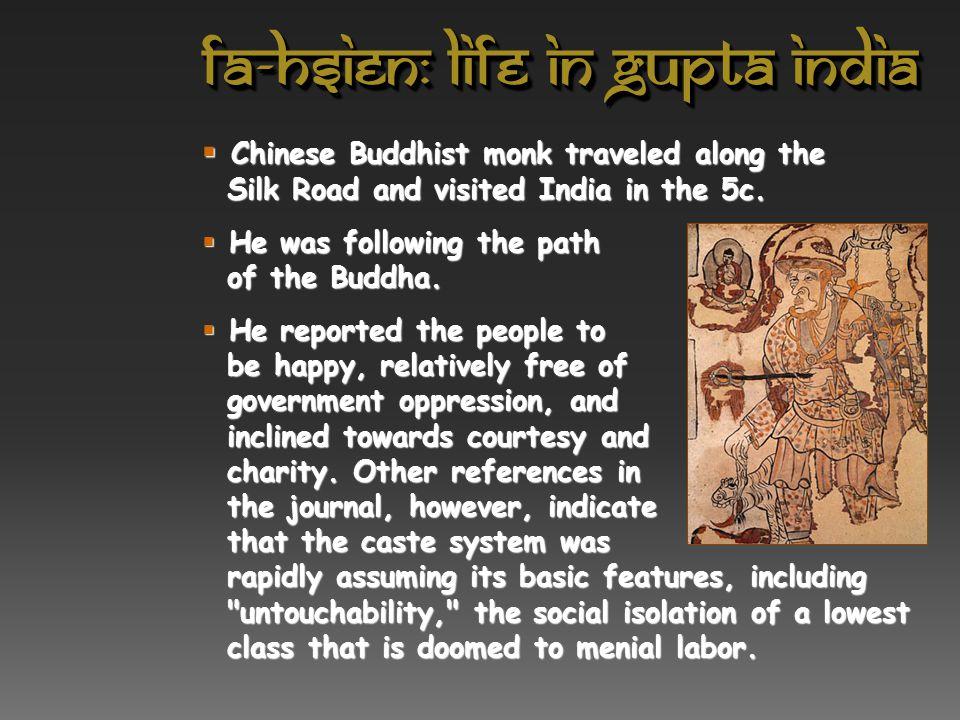 Fa-Hsien: Life in Gupta India
