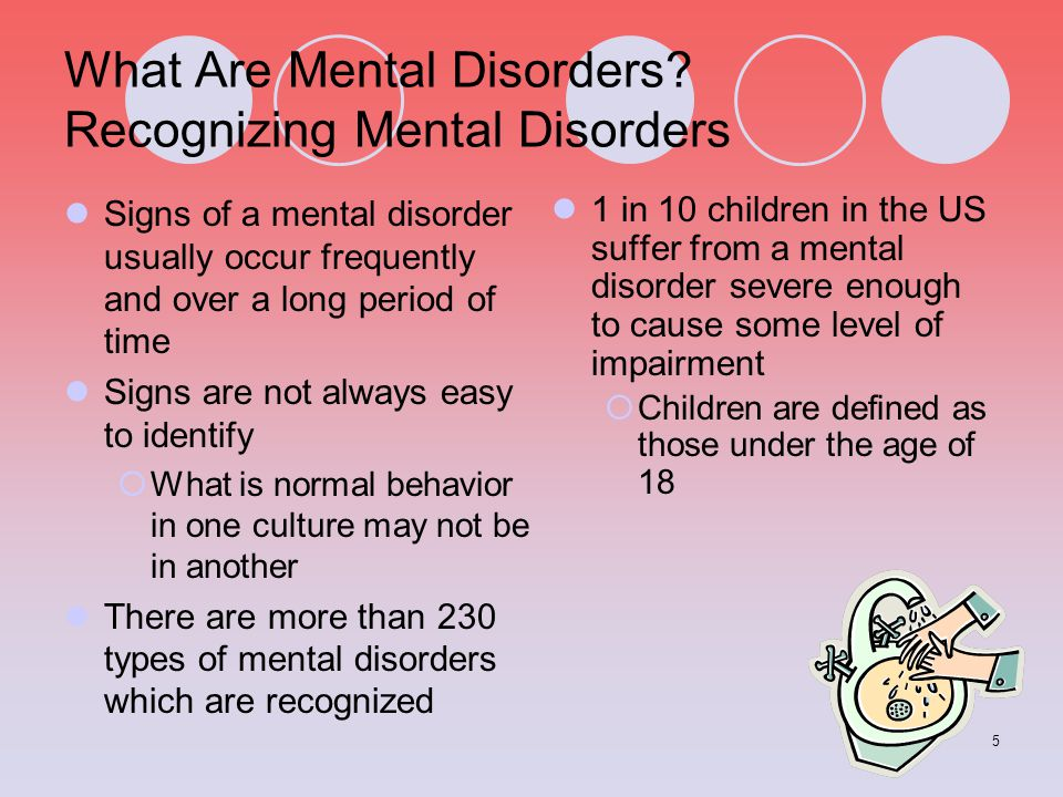 What Are Mental Disorders Recognizing Mental Disorders