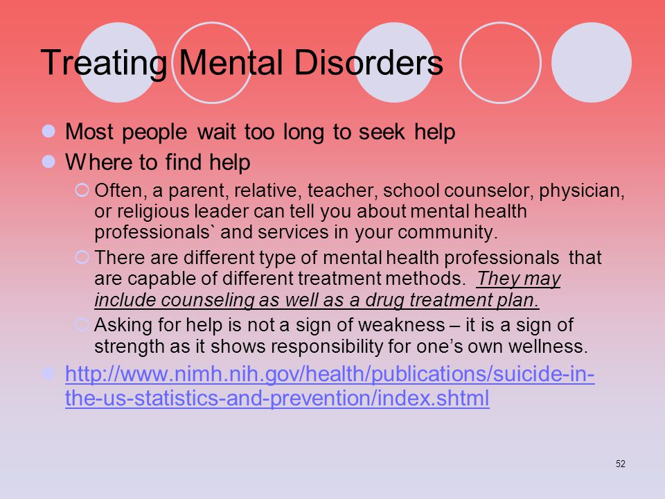 Treating Mental Disorders