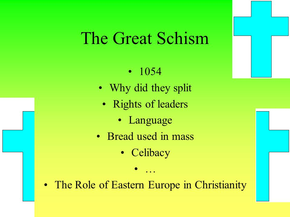 The Role of Eastern Europe in Christianity