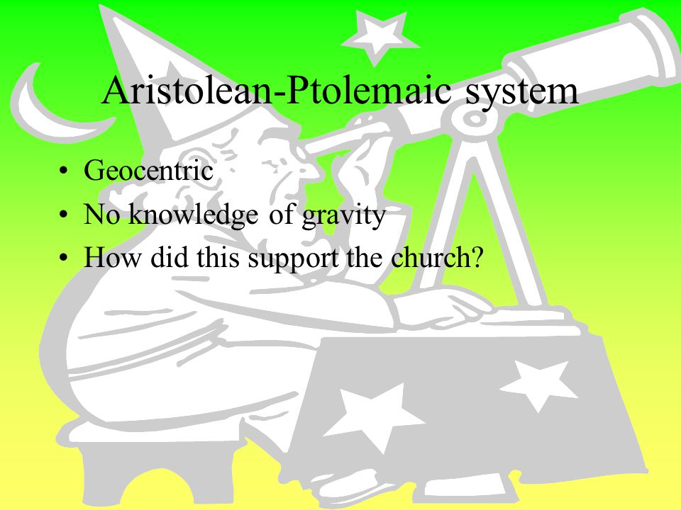 Aristolean-Ptolemaic system