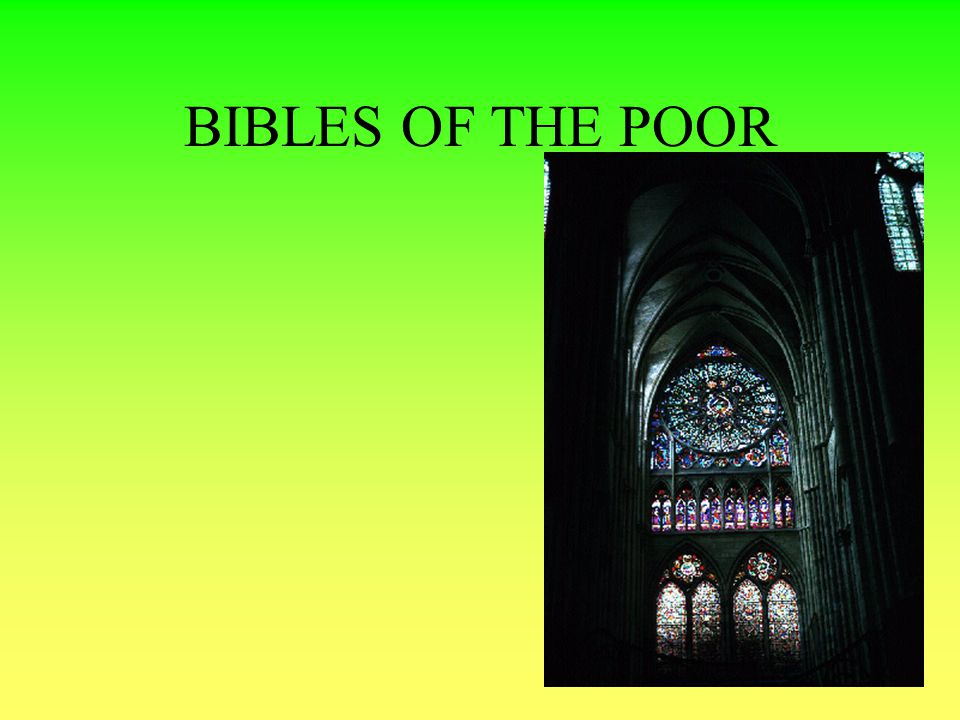 BIBLES OF THE POOR