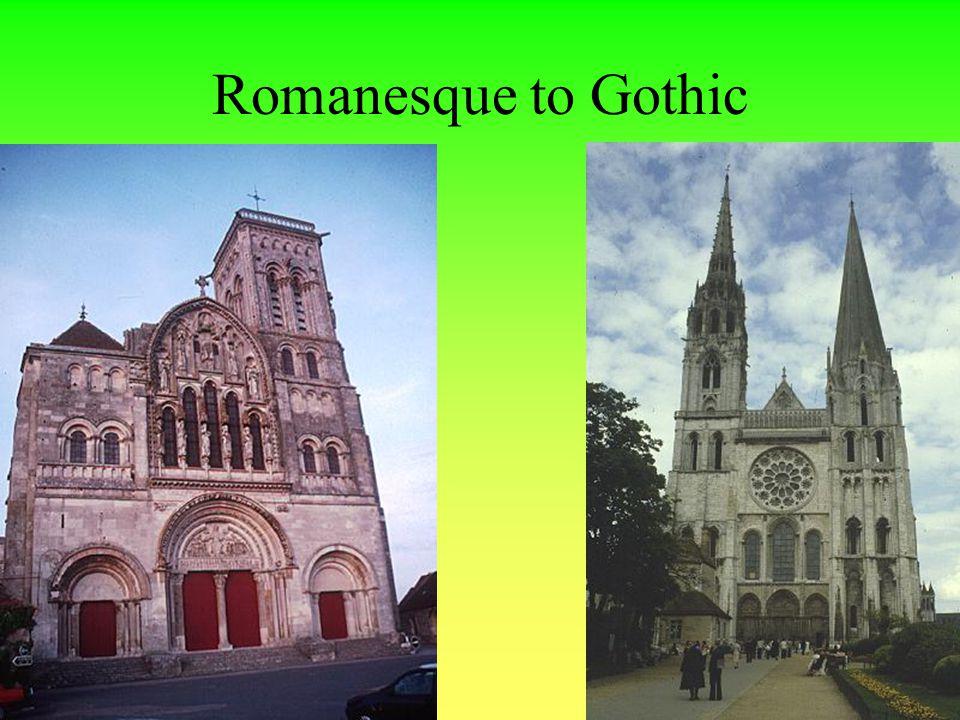 Romanesque to Gothic