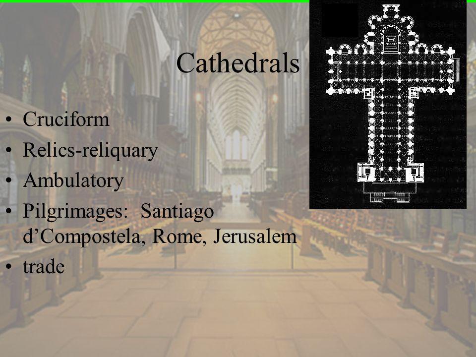 Cathedrals Cruciform Relics-reliquary Ambulatory