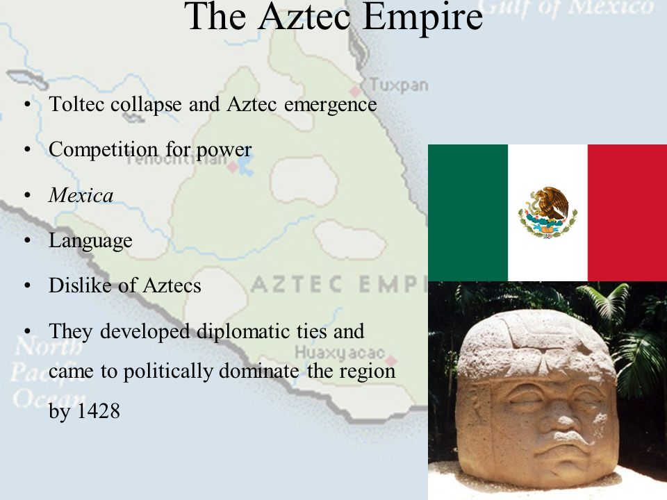 The Aztec Empire Toltec collapse and Aztec emergence