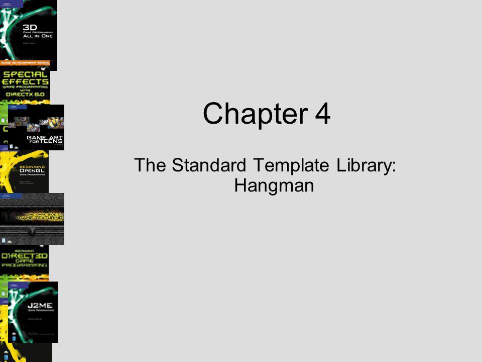 The Standard Template Library: Hangman