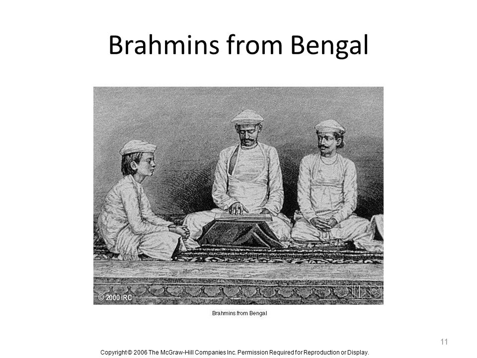 Brahmins from Bengal