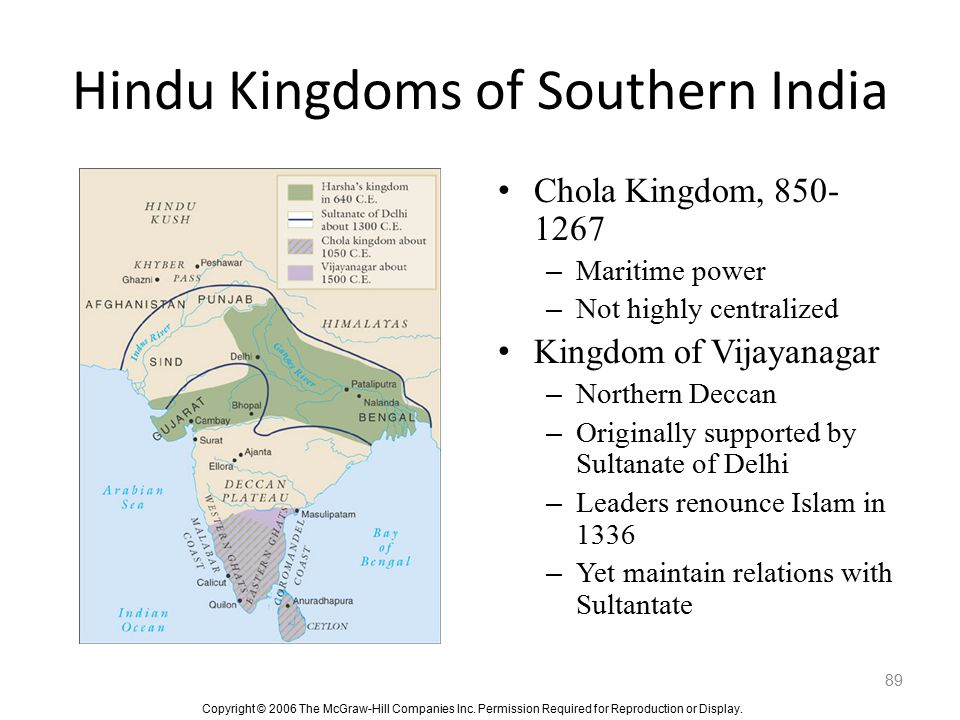 Hindu Kingdoms of Southern India