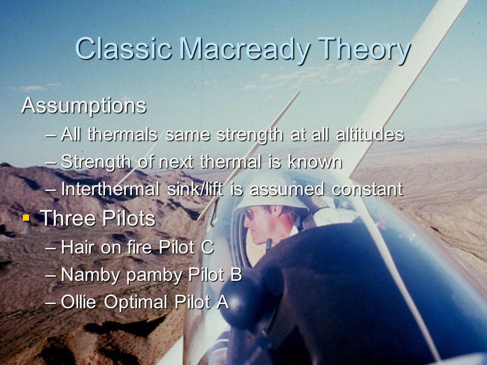 Classic Macready Theory