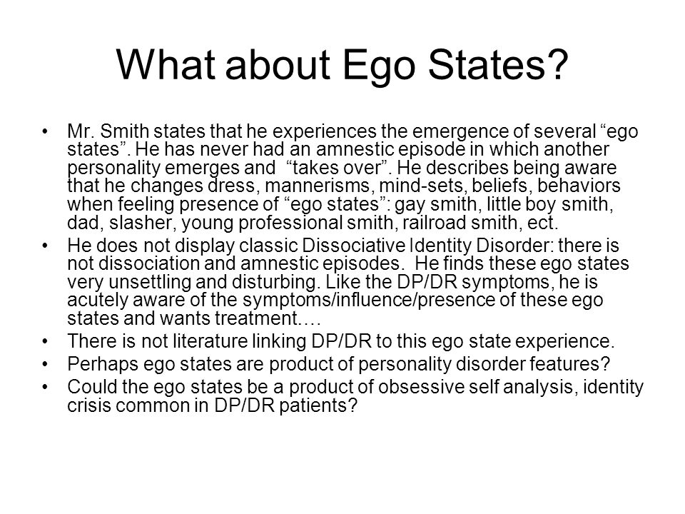 What about Ego States