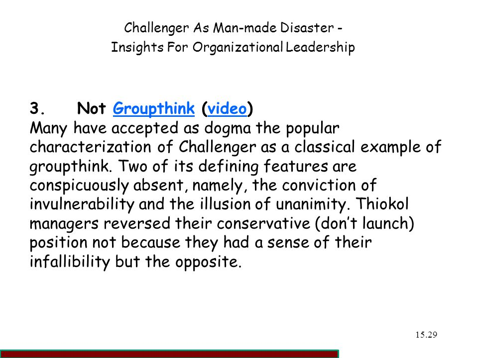 Not Groupthink (video)