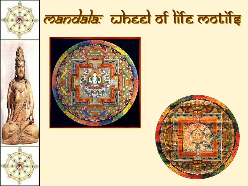 Mandala: Wheel of Life Motifs