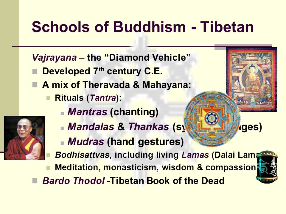 Schools of Buddhism - Tibetan