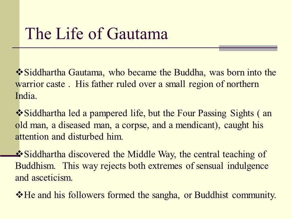 The Life of Gautama
