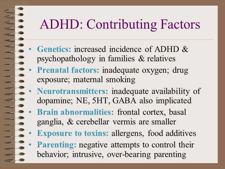 ADHD: Contributing Factors