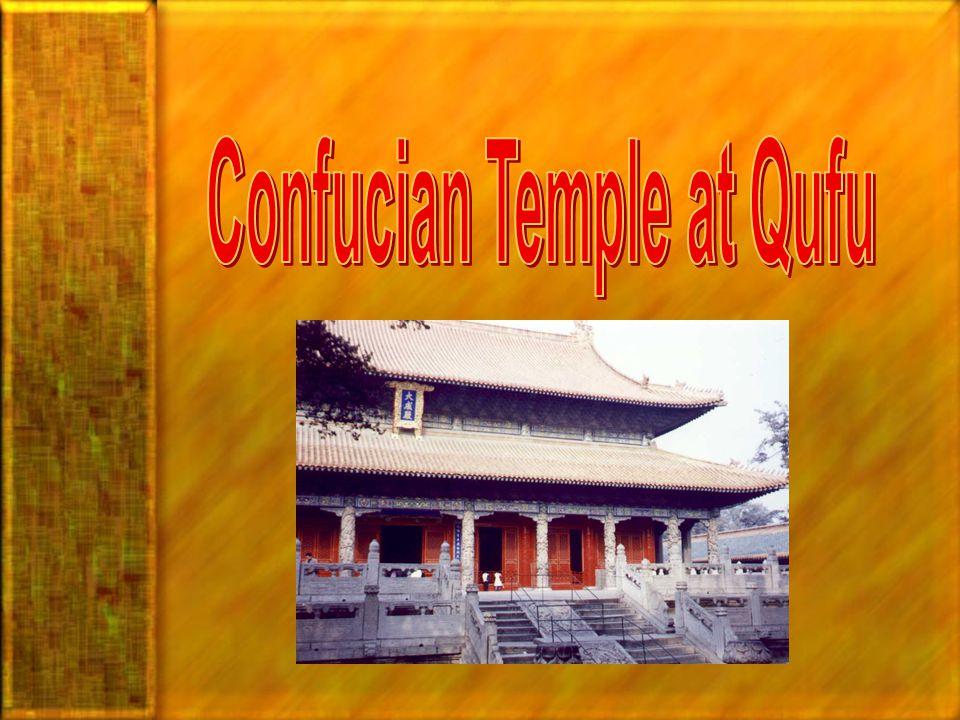 Confucian Temple at Qufu