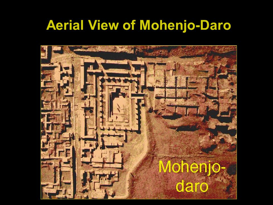 Aerial View of Mohenjo-Daro