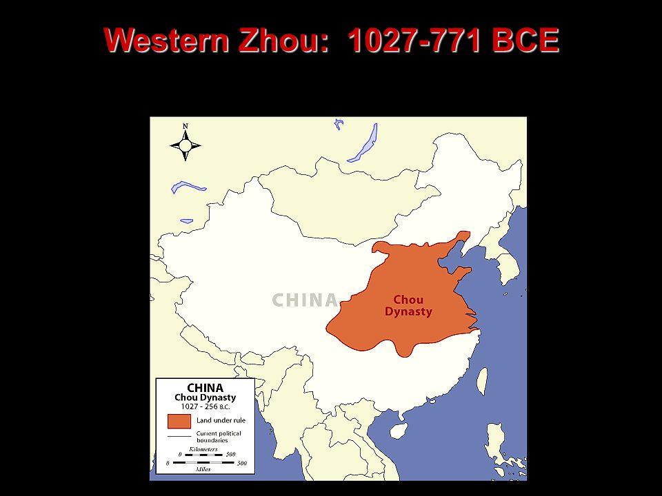Western Zhou: 1027-771 BCE