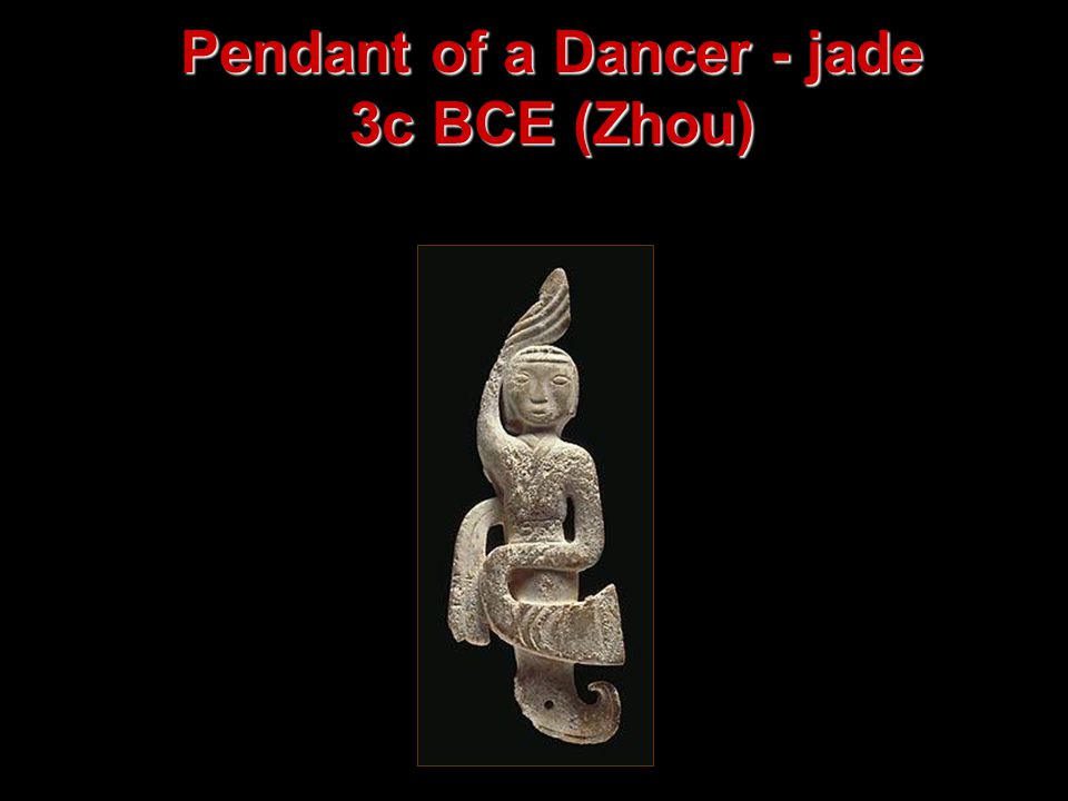 Pendant of a Dancer - jade 3c BCE (Zhou)