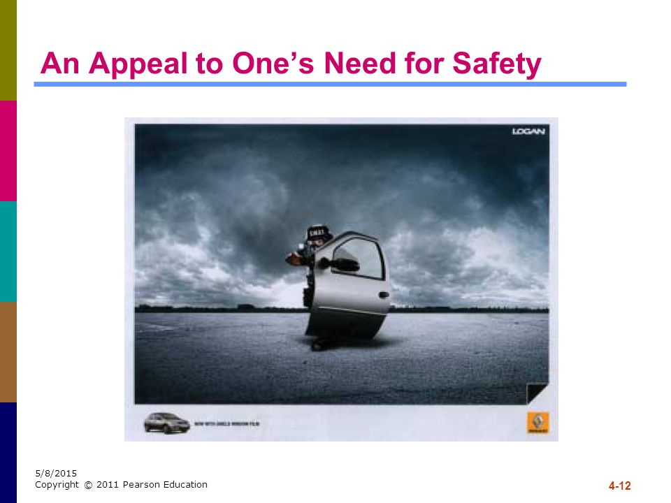 An Appeal to One's Need for Safety