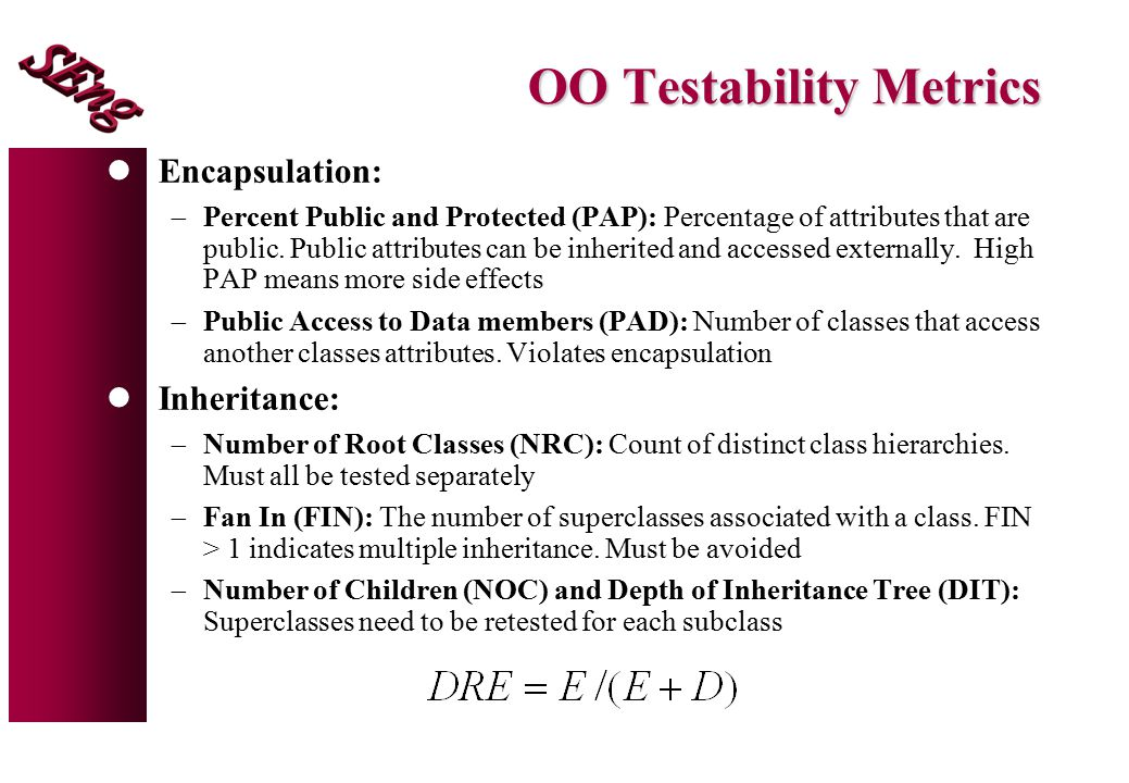 OO Testability Metrics