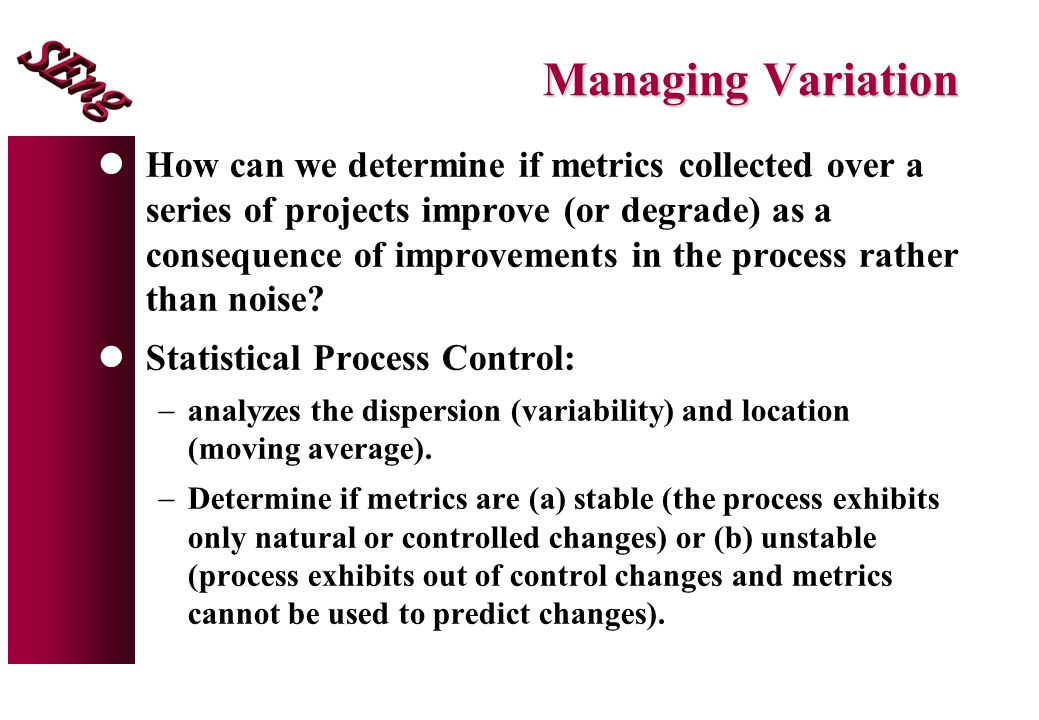Managing Variation