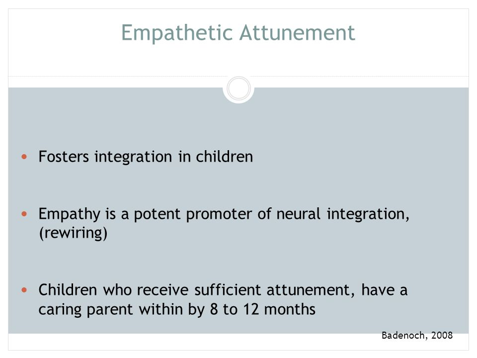 Empathetic Attunement