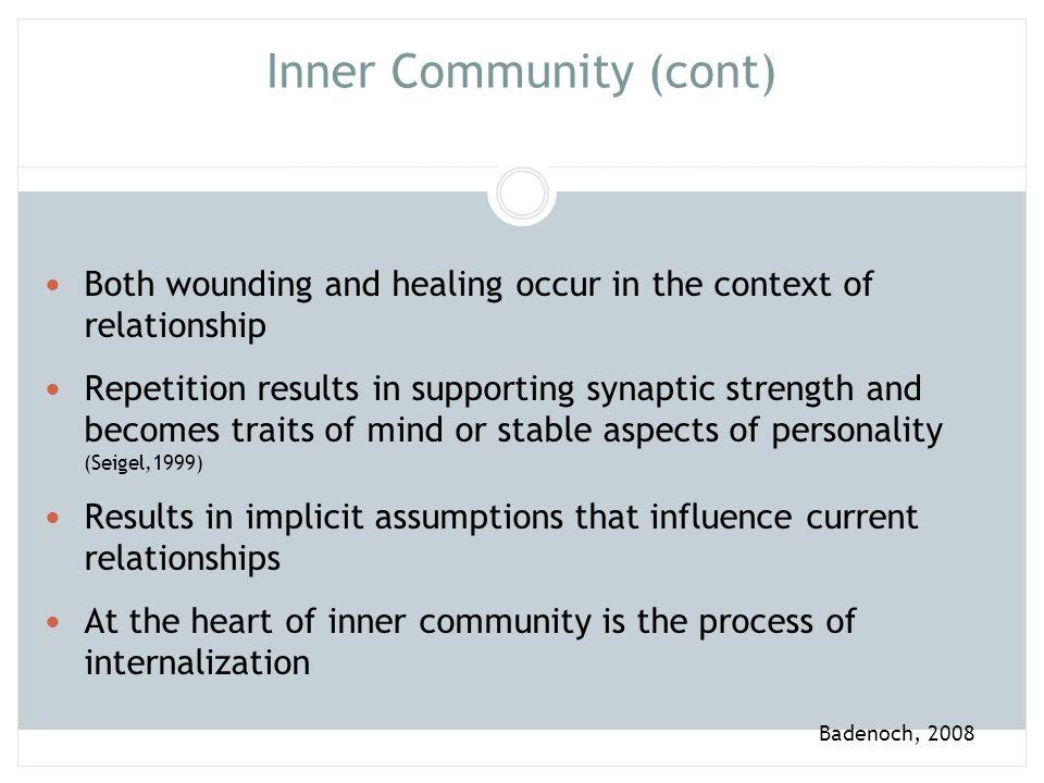 Inner Community (cont)