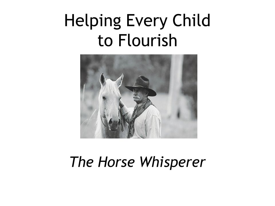 Helping Every Child to Flourish