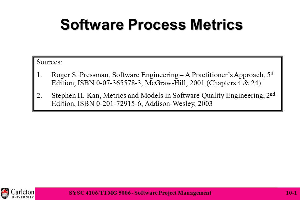 Software Process Metrics