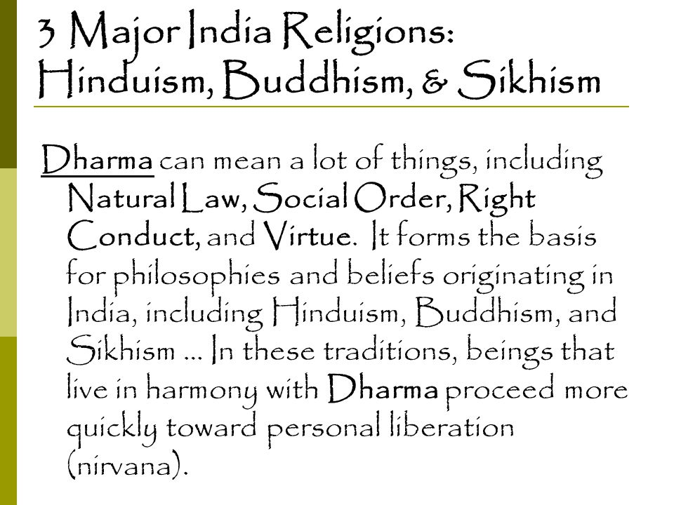 Buddhism and sikhism