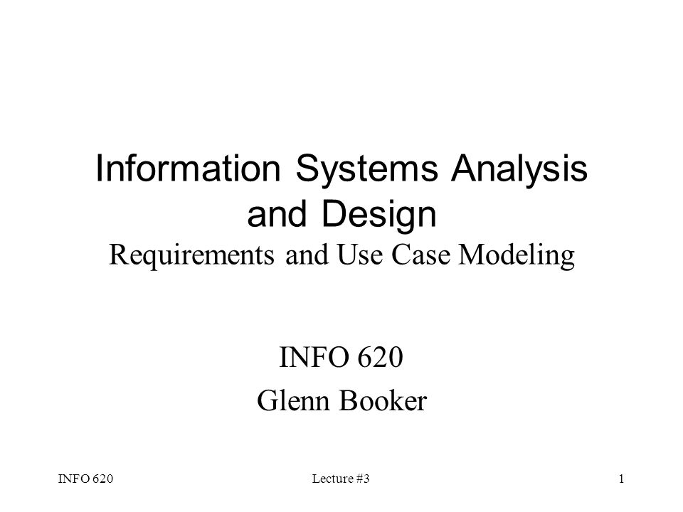 system analysis and design case study Itc 4010, system analysis and design 1 unit ii analyzing the business case and managing systems unit vii output and interface design review: unit study.