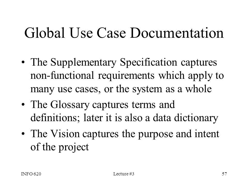Global Use Case Documentation