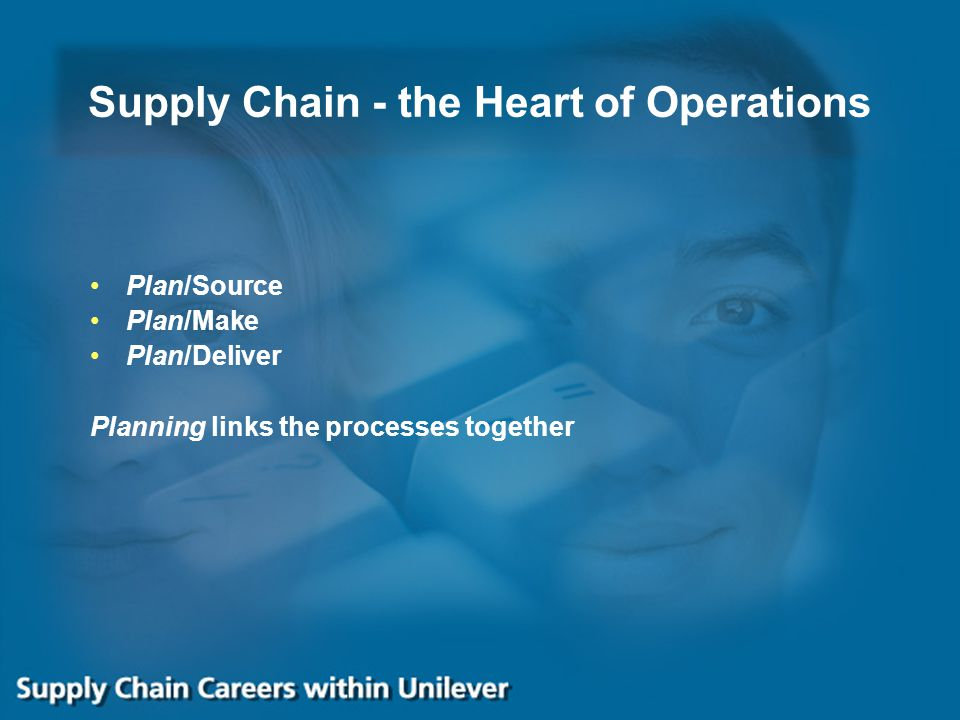 Supply Chain - the Heart of Operations