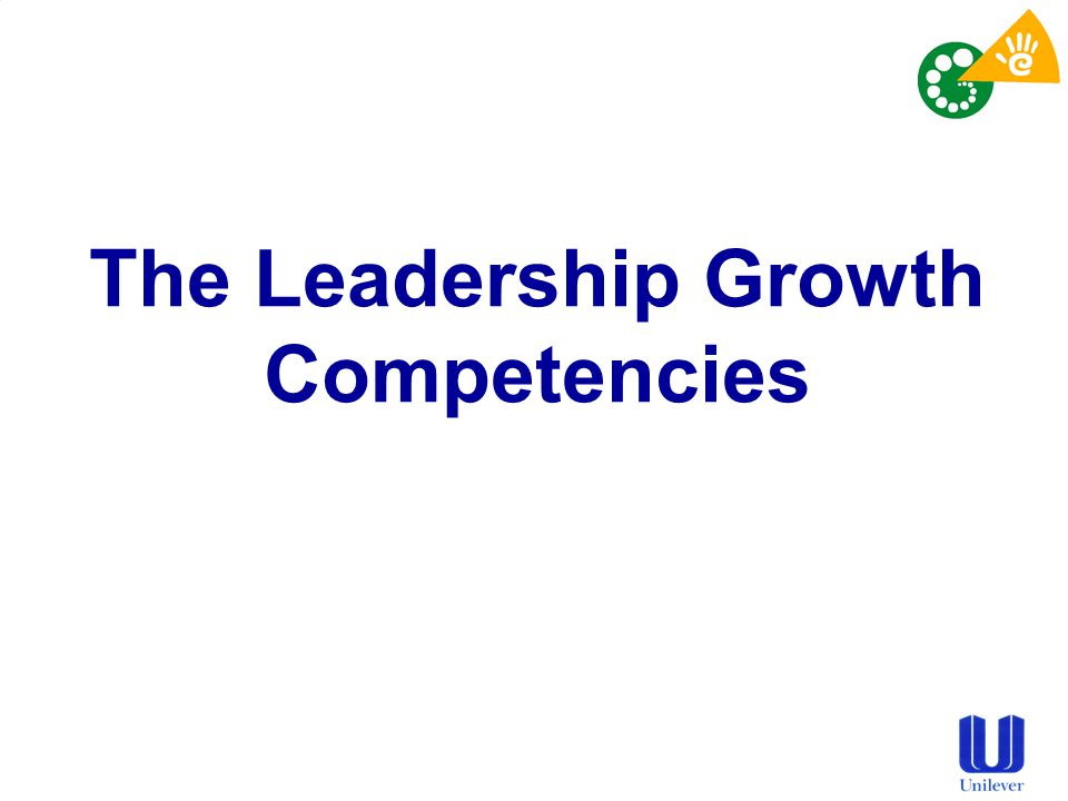 The Leadership Growth Competencies