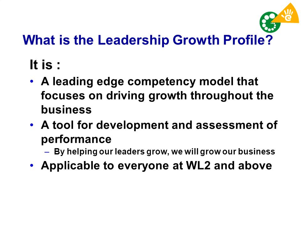 What is the Leadership Growth Profile