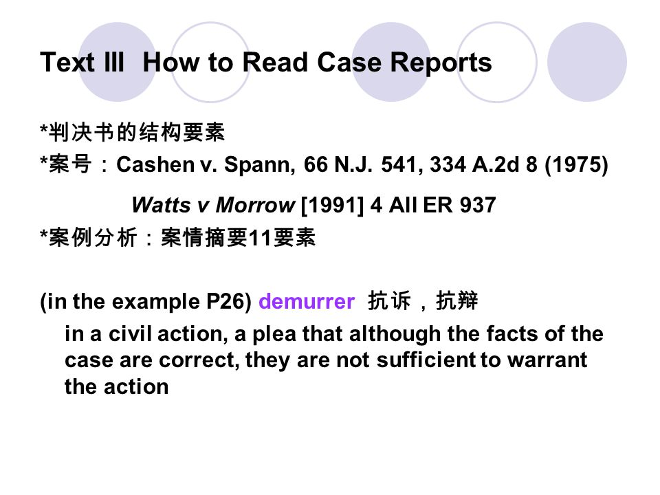 Text III How to Read Case Reports