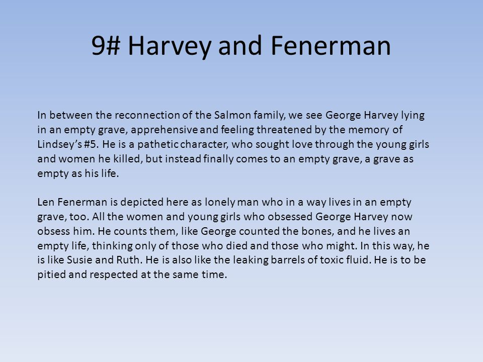 9# Harvey and Fenerman
