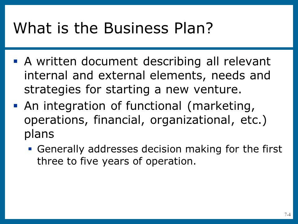 Help Making A Business Plan