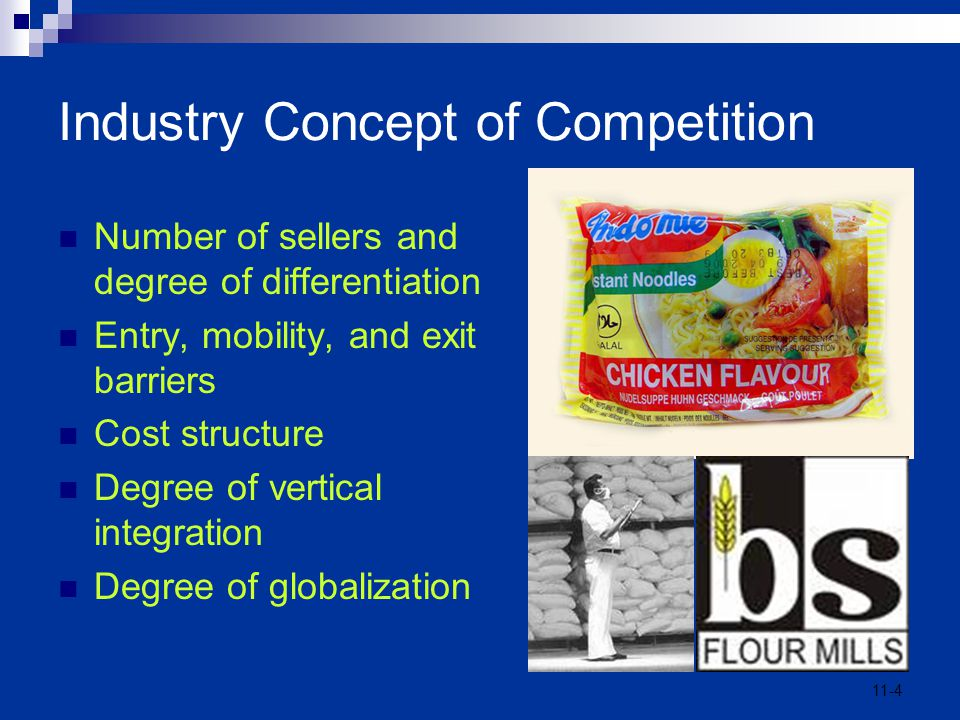 Industry Concept of Competition