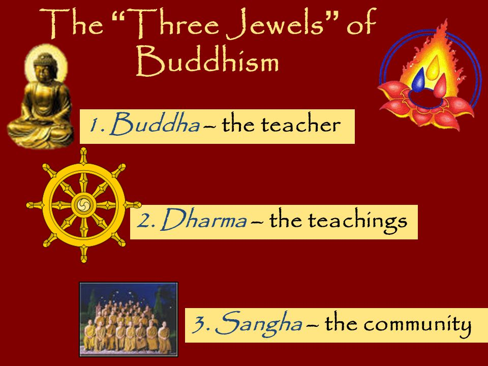 The Three Jewels of Buddhism