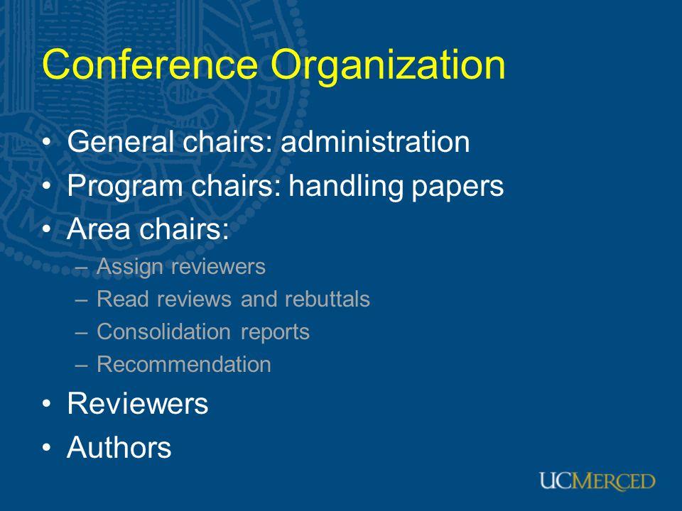 Conference Organization