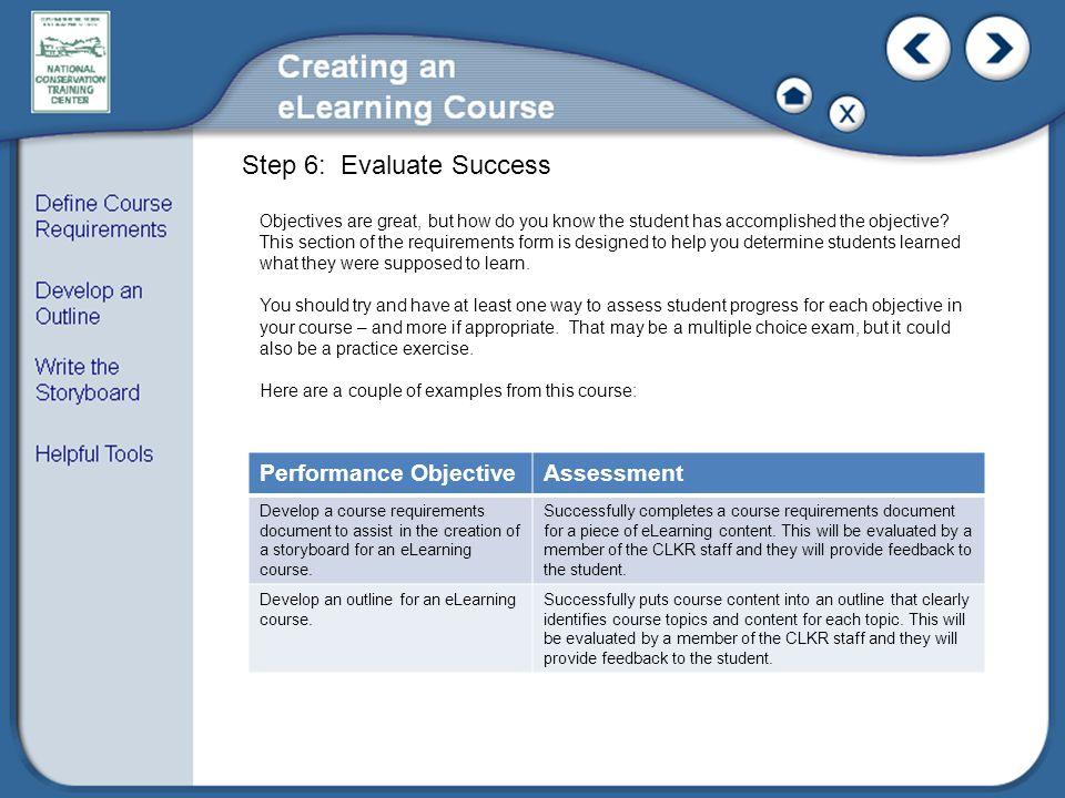 Step 6: Evaluate Success